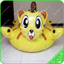 New Amusement inflatable lovely cat bumper boat for sale