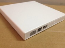 External White USB2.0 Slim 8x DVD-RW DVD-CD-RW Burner Writer Drive All PC and Mac