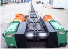 Carbon Steel Vertical Chain Scraper Slat Conveyors for Powders