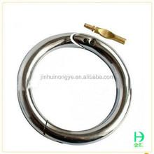 Alta qualidade preço de fábrica de aço inoxidável anéis ajustáveis baratos anéis de aço inoxidável