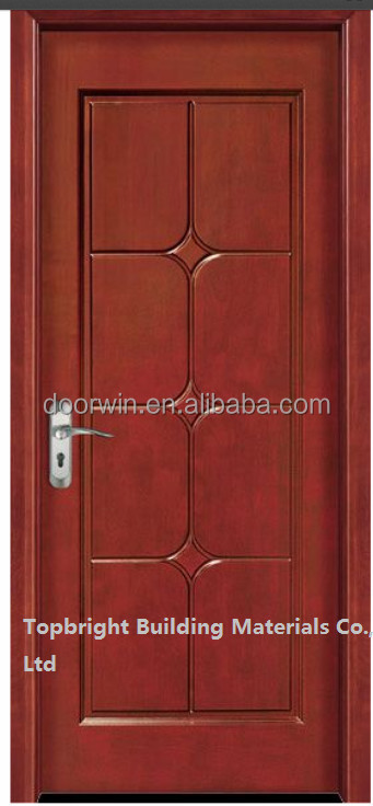 Classique int rieur simple porte de la chambre de bois for Porte en bois pour chambre