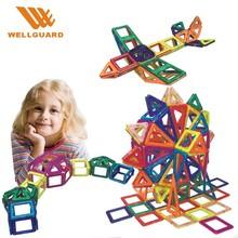 DIY plastic toys connecting building blocks magnetic building blocks