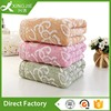Family use jacquard wholesale bamboo wash towel