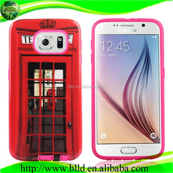 UV oil Printing PC TPU Mobile Phone Cases For Samsung S6