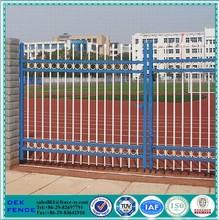 Residencial de Metal forjado vallas de hierro vallas elementos de puertas