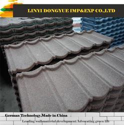 stone coated steel roof tile laminated asphalt shingle stone chips coated tile