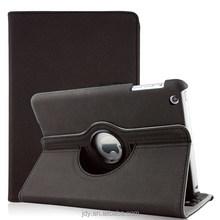 Hotsales For ipad mini case 360 degree rotating leather case, for ipad stand case,for ipad mini