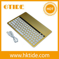 Golden color electronics keyboard cover for samsung galaxy note 8.0 2015 highest demand products