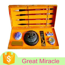 Top quality as promotional gift chinese calligraphy writing brush set