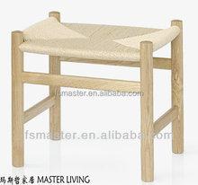 moder hot sale solid wood HANS J. WEGNER CH53 stool wood craft stool