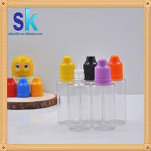 new type bottle clear pet e liquid bottle 1oz square pet bottle mass stock