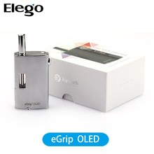 Up Grade Version Joytech eGrip oled!!! 2015 High Quality E Cigarette eGrip Kit with OLED display screen