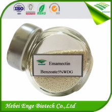 Manufacture emamectin benzoate 5% WDG types of insecticides
