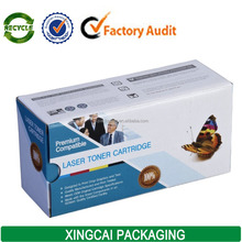 corrugated carton hp laser toner cartridge packaging box