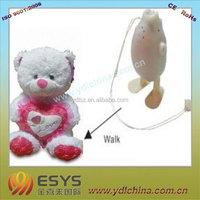 nylon stuffed animal/ stuffed plush toy animal with many kinds design