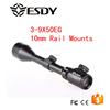 Hunting 3-9 x 50 E Red & Green Dot Illuminated Optics Riflescope Sight 10mm Rail