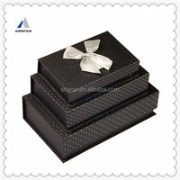 Moutain Black clamshell magnet gift box