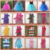 Single Tulle Lace Dress ; Chiffon child party dress girl baby dress