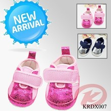 KRDSHOES 2015 spring design comfortable and breathable baby walk shoes for girls and boys