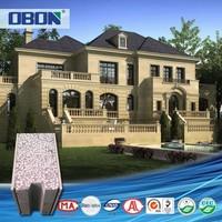 OBON fast construction prefabricated luxury prefab steel villa