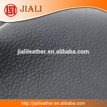 Dongguan Made Matt Litchi Pattern Chip Leather Backing Sofa Furniture Rexine Leather