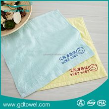 Custom embroidery designs for advertising terry cotton hand towel