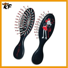 best sale black color durable vent cushion hair brush