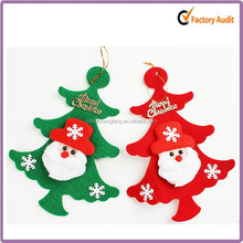 Hot ! christmas hanging felt decor for tree ,custom order welcomed felt decor