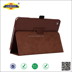 Hot selling leather cover fabric tablet protective case for Ipad Mini 4