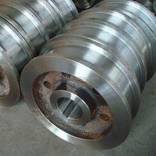 forging rolling parts railway 350 Dia Crane Wheel
