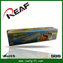Creative and convenient kitchen,colored plastic wrap for food