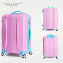 Cheap Spinner Wheel ABS Plastic Cover Luggage with Code Lock