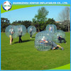 2015 most popular clear football inflatable body zorb ball
