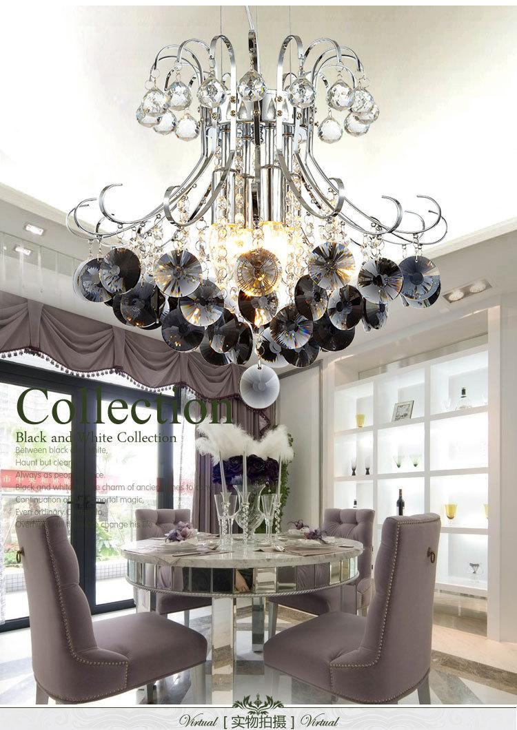 lampadario di cristallo di grandi dimensioni a buon mercato a buon ...