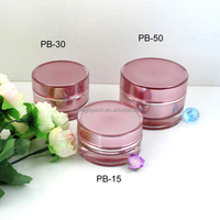30ml Factory Direct Cosmetic Packaging Round Acrylic Cream Jar