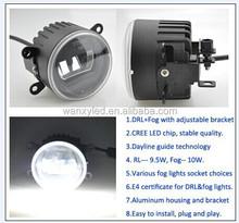 Universal LED DRL+FOG LIGHT 12&24 Voltage Fog light LED Daytime Running Light