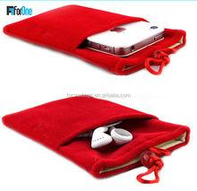 Promotional cell phone holder,neck hanging phone bag