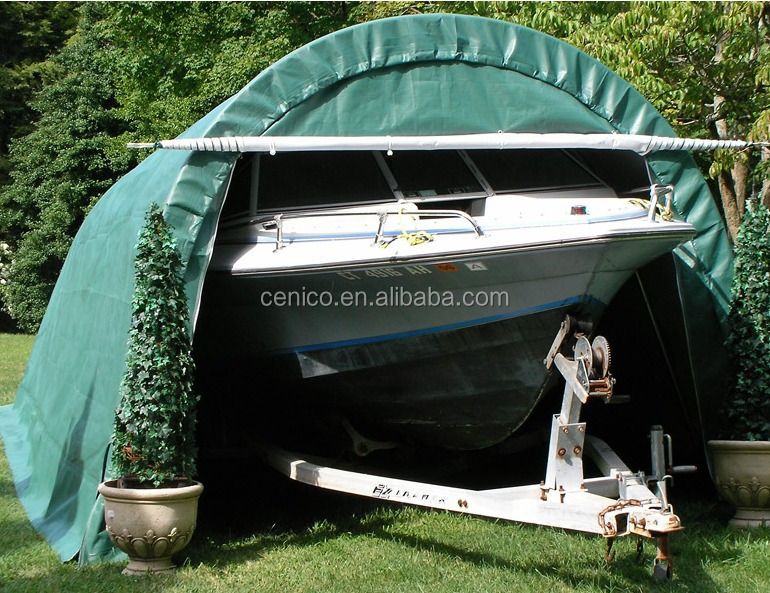 Boat Shelter Architectural Detail : Instant car garage portable shelter home storage