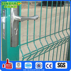 Double Swing Yard Gates Chain Link Mesh Fence Gate
