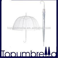 23''8ribs pvc plastic poe material umbrella