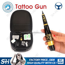 China supplier Permanent Feature and Tattoo Gun Type tattoo machine makeup sets