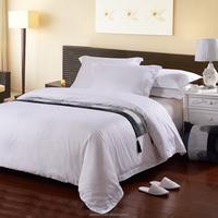 2015 latest design chinese hotel bed sheet set