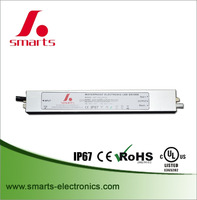 48v 20w constant voltage single output waterproof led transformer