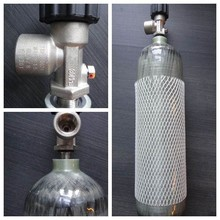 CE Certification 3L Fully Wrapped carbon fiber cng-3 cylinder