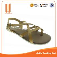 New design latest designs factory china ladies sandals photo