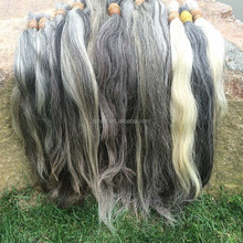 Wholesale Cheap No Chemical Unprocessed Natural Color 100% Virgin Remy Human Hair Extensions Grey Human Hair