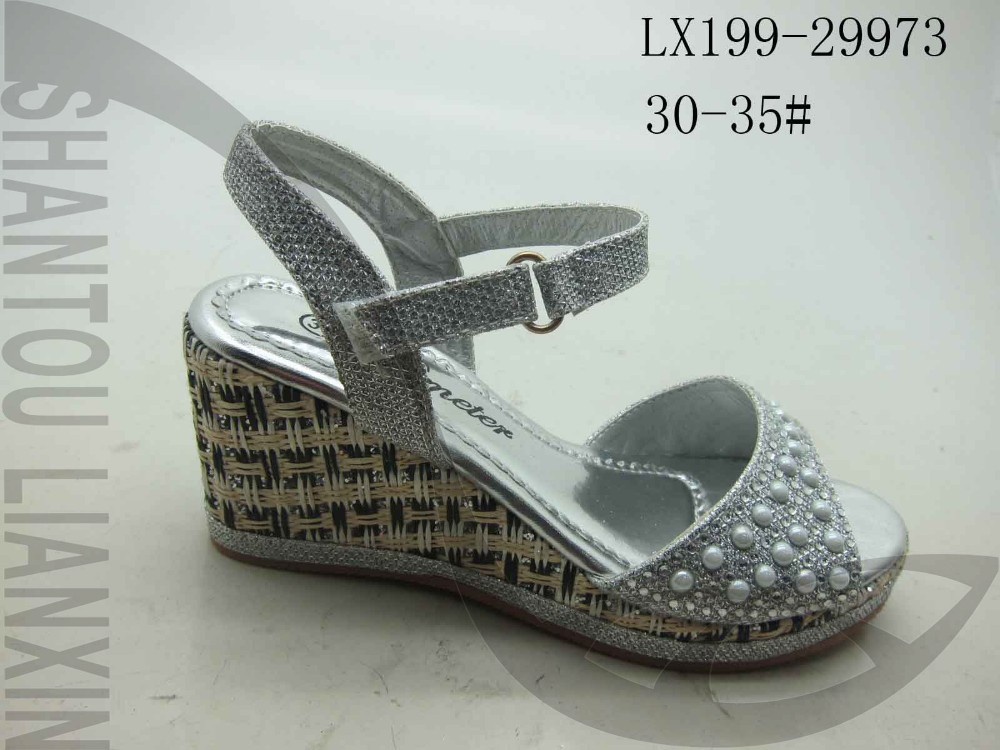 Latest wedge shoes for girls