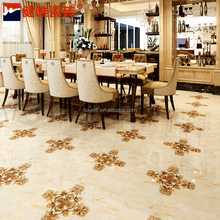 China high quality flow crystal decorative indoor floor tile