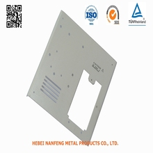 OEM High Quality Welding Metal White Coated Covers Fabrication