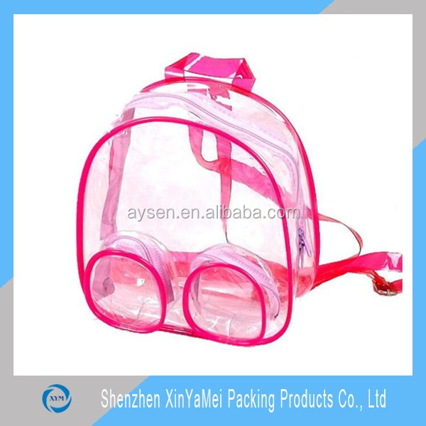 Backpack Type and 600D/PVC,Polyester Material PVC Backpack